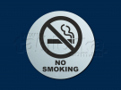 Табличка No smoking эконом